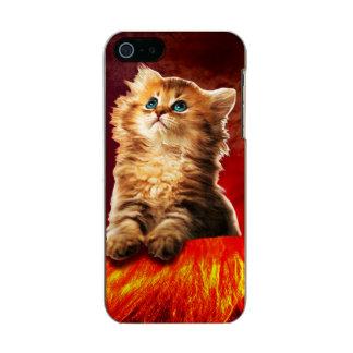 volcano cat ,vulcan cat , incipio feather® shine iPhone 5 case