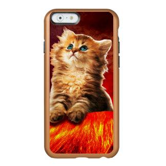 volcano cat ,vulcan cat , incipio feather® shine iPhone 6 case
