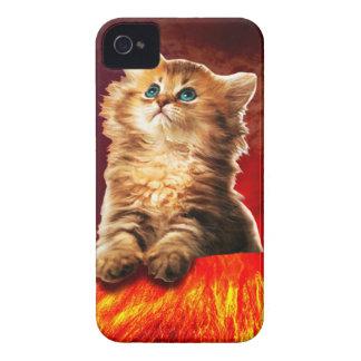 volcano cat ,vulcan cat , iPhone 4 case