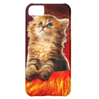 volcano cat ,vulcan cat , iPhone 5C case