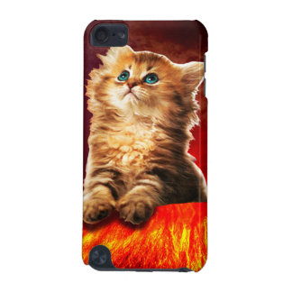 volcano cat ,vulcan cat , iPod touch 5G cover