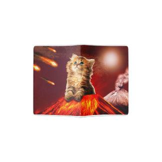 volcano cat ,vulcan cat , passport holder