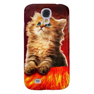 volcano cat ,vulcan cat , samsung galaxy s4 covers