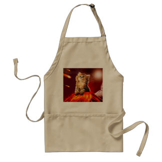 volcano cat ,vulcan cat , standard apron