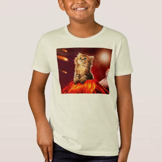 volcano cat ,vulcan cat , T-Shirt