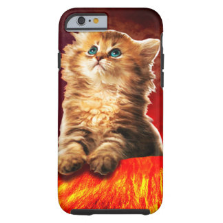 volcano cat ,vulcan cat , tough iPhone 6 case