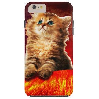 volcano cat ,vulcan cat , tough iPhone 6 plus case
