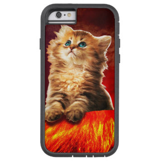 volcano cat ,vulcan cat , tough xtreme iPhone 6 case