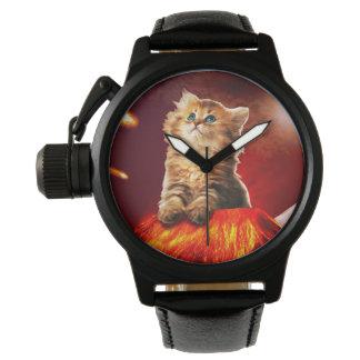 volcano cat ,vulcan cat , watch