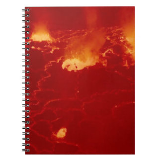 Volcano Congo Mountain Fire Fireworks Energy Blow Note Books