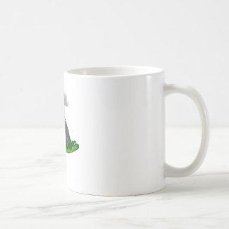 volcano eruption and fire coffee mug