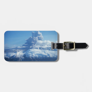 Volcano Eruption Iceland Luggage Tag