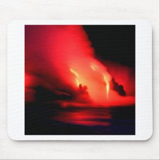 Volcano Fire And Ice Kona Hawaii Mouse Pad
