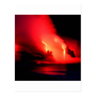 Volcano Fire And Ice Kona Hawaii Postcard
