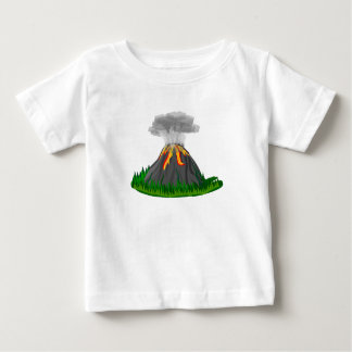 volcano fire eruption baby T-Shirt