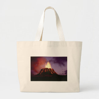 volcano force large tote bag