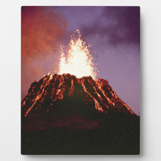 volcano force plaque