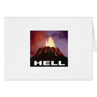 volcano hell card
