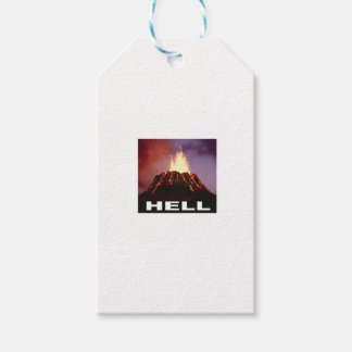 volcano hell gift tags