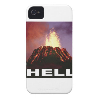 volcano hell iPhone 4 Case-Mate case