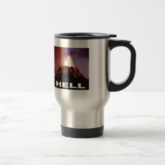 volcano hell travel mug