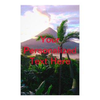 Volcano In The Tropics Flyer