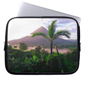 Volcano In The Tropics Laptop Sleeve
