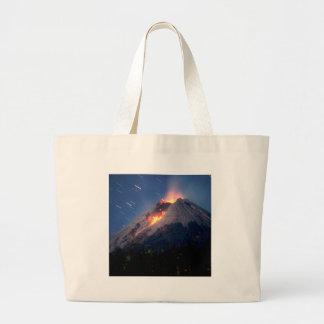 Volcano Natural Wonder Canvas Bags
