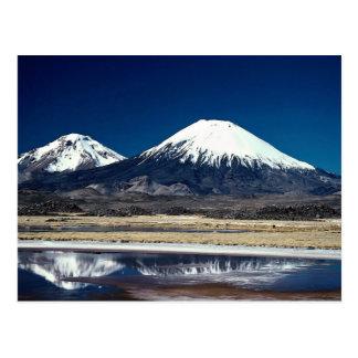 Volcano Parinacotta, Chile Postcard