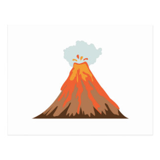 Volcano Postcard