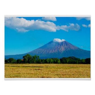 Volcano San Cristobal, Nicaragua Poster