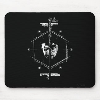 Voldemort Harry Potter Face Off Graphic Mouse Pad