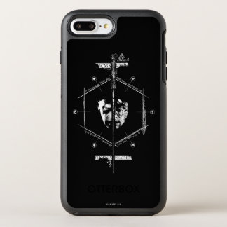 Voldemort Harry Potter Face Off Graphic OtterBox Symmetry iPhone 8 Plus/7 Plus Case