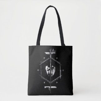 Voldemort Harry Potter Face Off Graphic Tote Bag