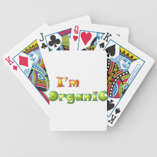 Volenissa - I'm organic Bicycle Playing Cards