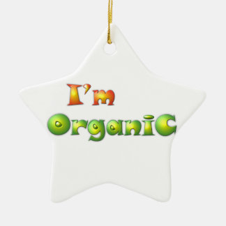 Volenissa - I'm organic Ceramic Ornament