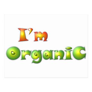 Volenissa - I'm organic Postcard