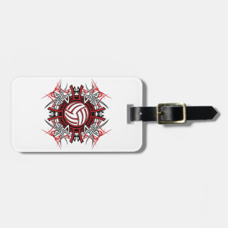 Volleyball Art Luggage Tags