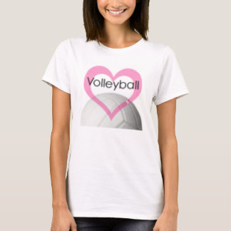 volleyball baby doll T-Shirt