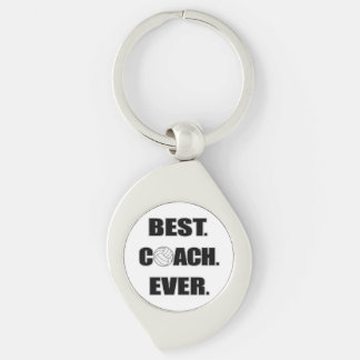 Volleyball Best Coach Ever Key Ring