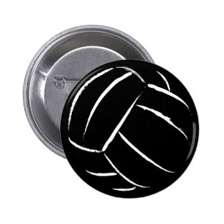 Volleyball Button - Customized