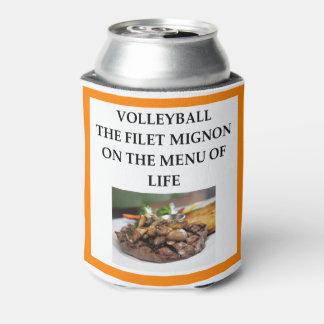 volleyball can cooler