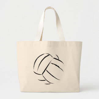 Volleyball Canvas Tote Bag