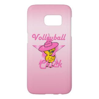 Volleyball Chick #8