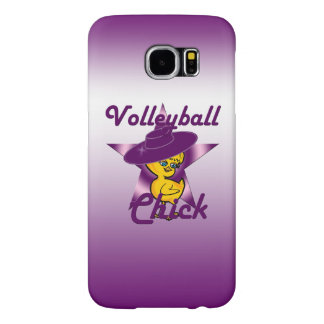 Volleyball Chick #9 Samsung Galaxy S6 Cases