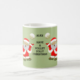 volleyball Christmas Coffee Mug