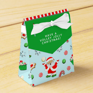 volleyball Christmas Favour Box
