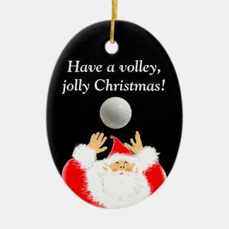 volleyball christmas gift christmas ornaments