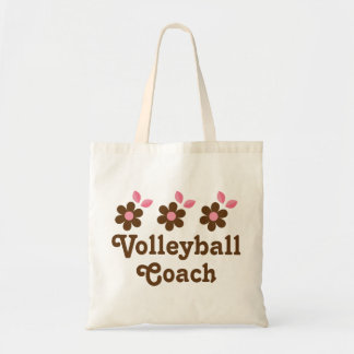 Volleyball Coach Gift (Girls) Tote Bag