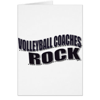 Volleyball Coach Gifts Card